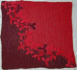2003 Swirling Leaves Afghan